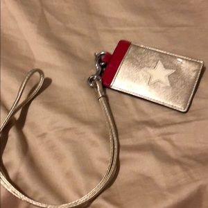 Coach Star Pass Case